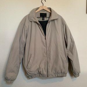 Croft & Barrow Men's Tall Tan Winter Jacket